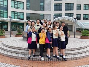 中五中六同學到香港教育大學參觀