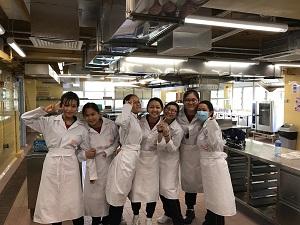 中五級同學修讀應用學習課程---西式食品製作